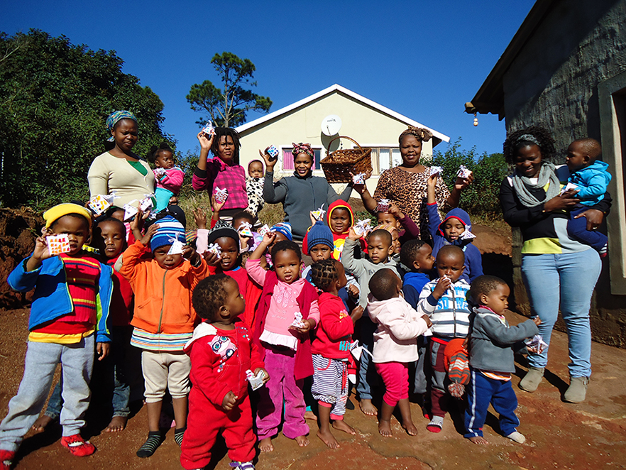 iThemba Academy – little people learning to give back…